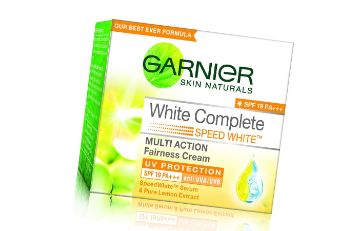 6. Garnier Skin Naturals White Complete Multi Action Fairness Cream