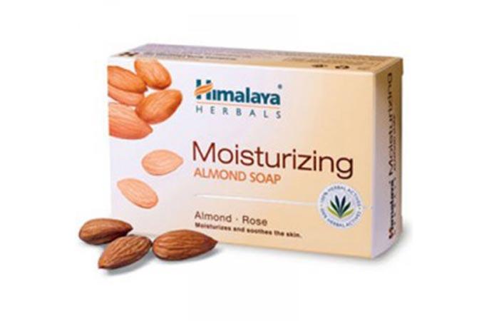 6. Himalaya Herbals Almond Moisturizing Soap