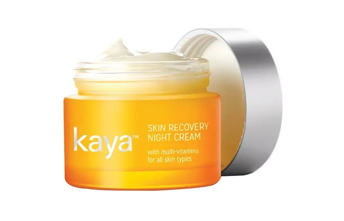 6. Kaya Skin Recovery Night Cream
