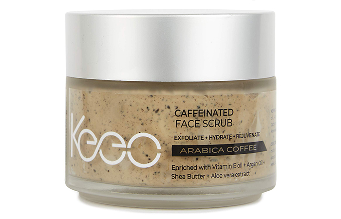 6.-Keeo-Skin-Essentials-Caffeinated-Face-Scrub - Skin Exfoliants