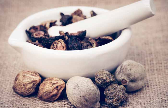 6. Triphala And Warm Water