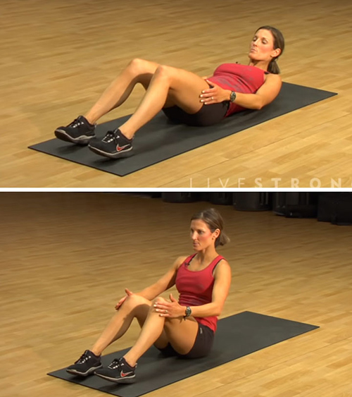 Sit-Ups To Get Rid of Belly Fat