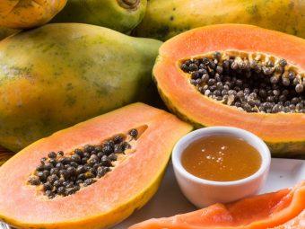 7-Papaya-Face-Packs-For-Glowing,-Fair,-And-Smooth-Skin