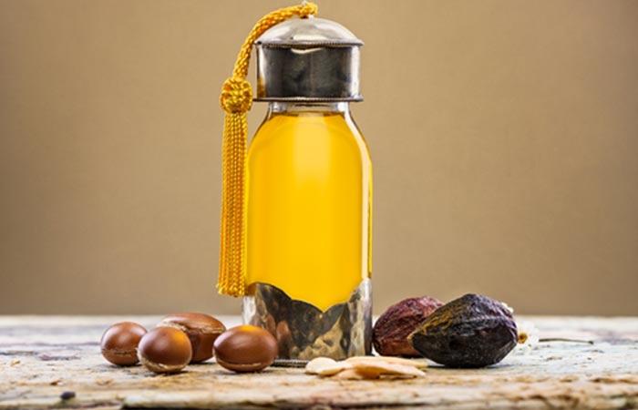 Hot Oil Hair Massage - Argan Oil