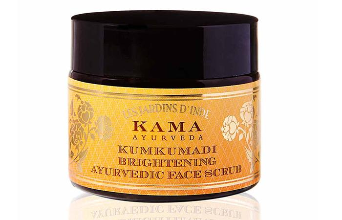 7.-Kama-Ayurveda-Kumkumadi-Brightening-Ayurvedic-Scrub - Skin Exfoliants