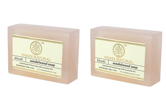 7. Khadi Sandalwood Soap