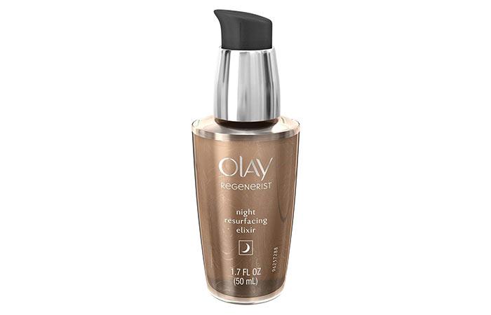 7. Olay Regenerist Advanced Anti-Aging Night Resurfacing Elixir