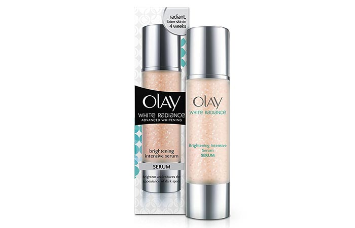 8. Olay White Radiance Brightening Intensive Fairness Serum