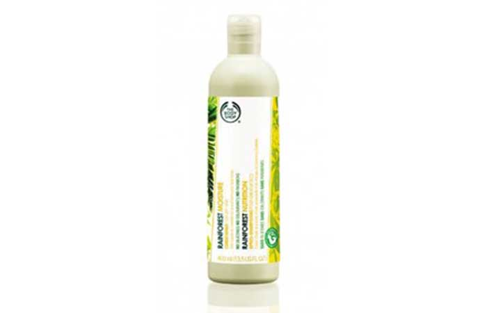 8. The Body Shop Rainforest Moisture Conditioner