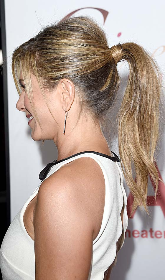Perky Ponytail With Loose Bangs