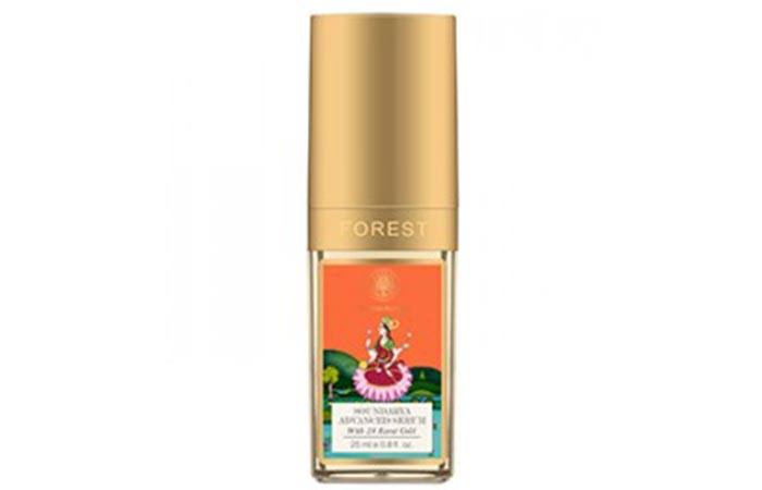 9. Forest Essentials Advanced Soundarya Age Defying Face Serum