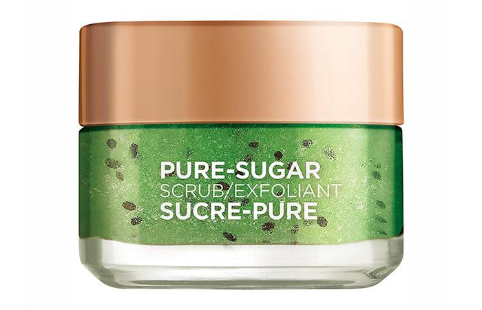 9.-L'Oreal-Paris-Pure-Sugar-Scrub-Exfoliant - Skin Exfoliants