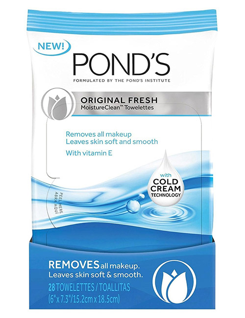 Pond's Original Fresh MoistureClean Towelettes - Face Wipes