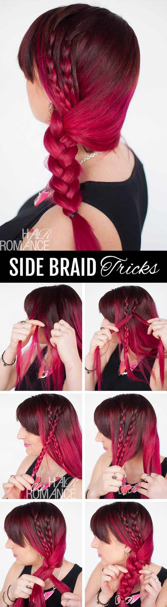 Accented-Side-Braid