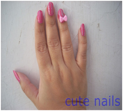 acrylic nail art stickers 1