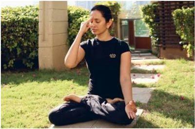 Anulom Vilom in yoga