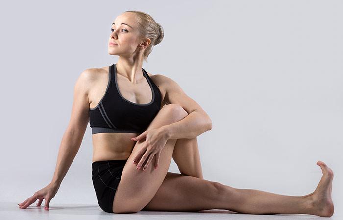 Ardha Matsyendrasana To Cure Neck Pain - Yoga