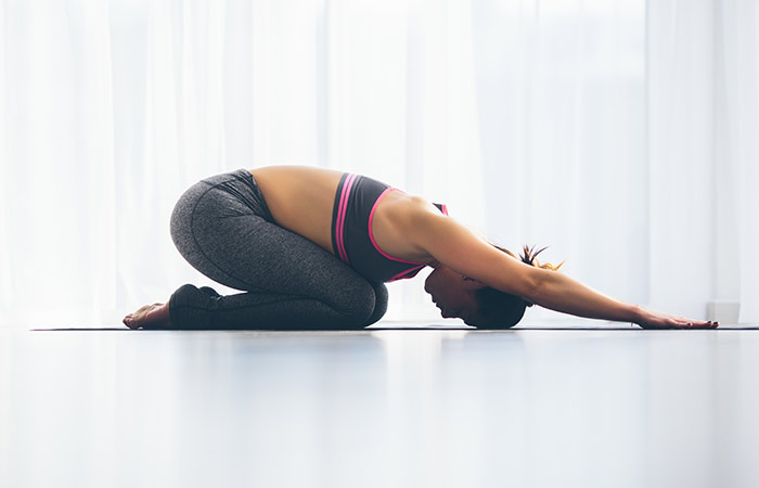 Balasana To Cure Neck Pain - Yoga