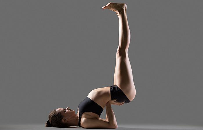 Viparita Karani To Cure Neck Pain - Yoga