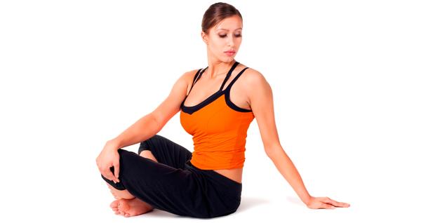 Bharadvajasana in yoga