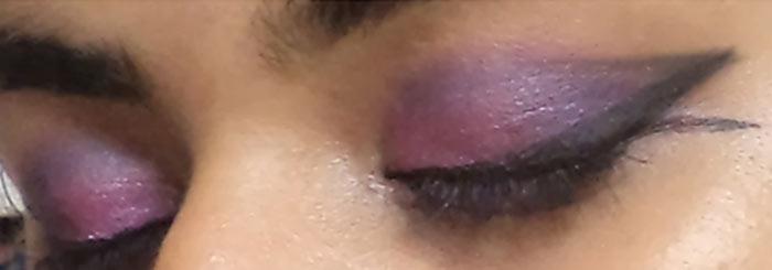 Фиолетовый Глаз Макияж Учебник-Расширить Линию
