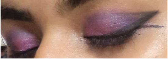 Black Smoke eye makeup