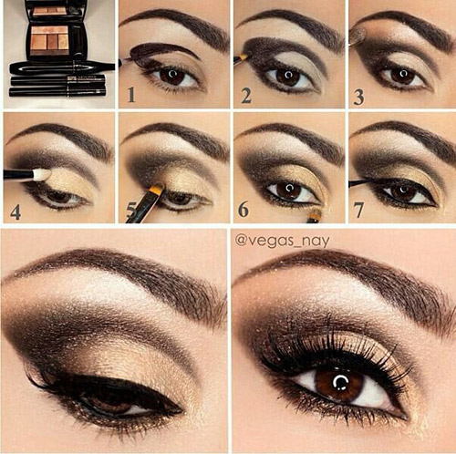 How To Do Smokey Eye Makeup? - Top 10 Tutorial Pictures For 2017