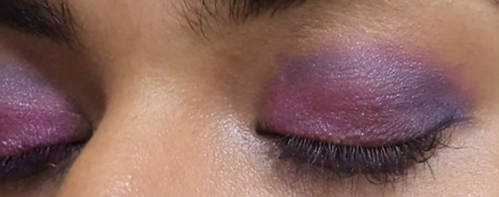 Purple Eye Makeup -  Blend The Blue Shade
