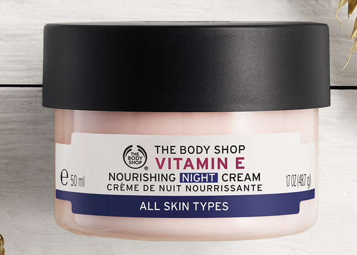 Body Shop Vitamin E Nourishing Night Cream