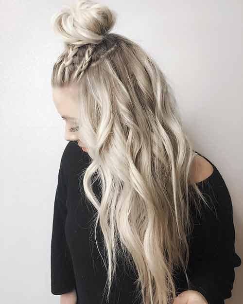 Braided Topknot