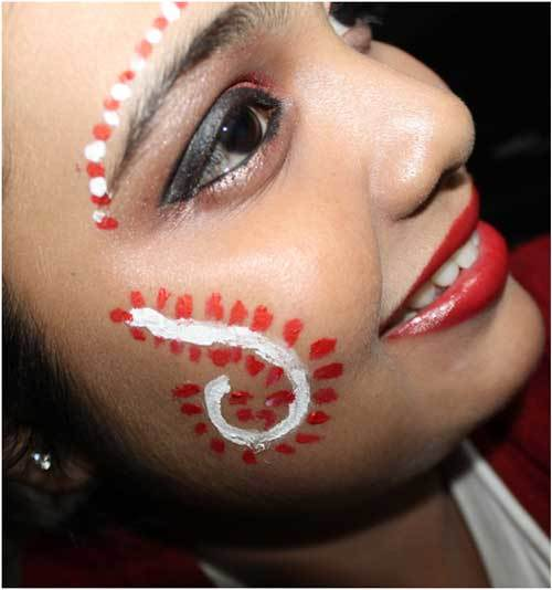 indian bengali bridal makeup