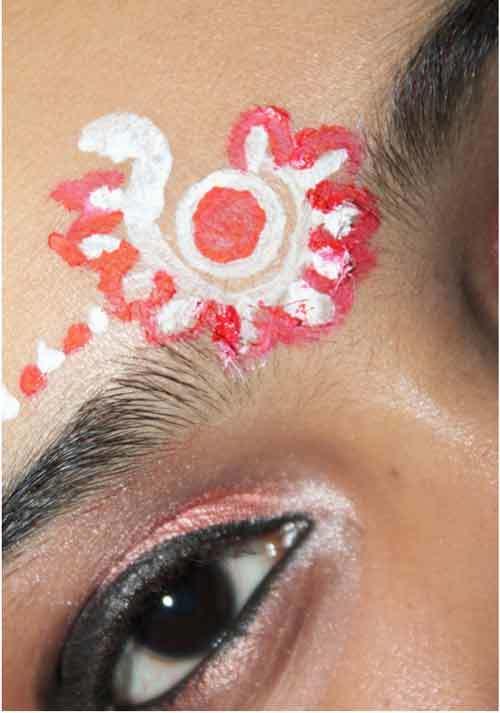 how to do bengali bridal makeup