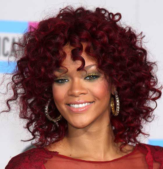 Burgundy-Short-Perm
