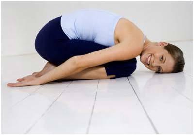 Balasana for neck pain