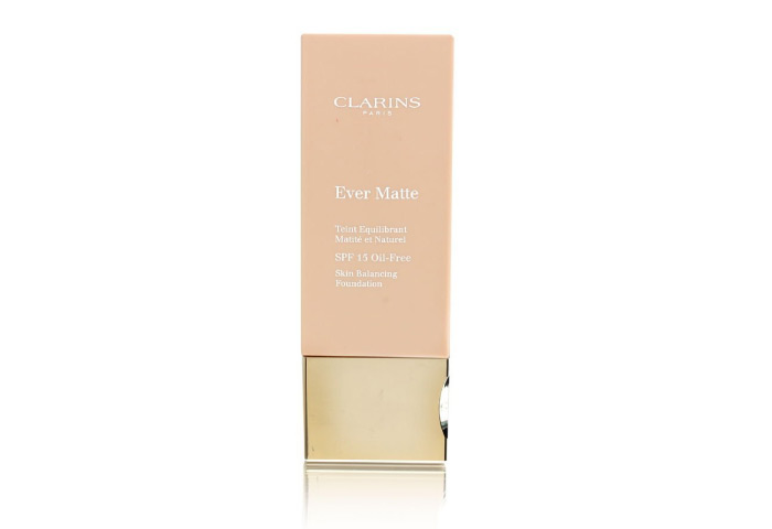 Clarins Ever Matte Oil-Free Foundation - One of the Best Foundations for Oily Skin