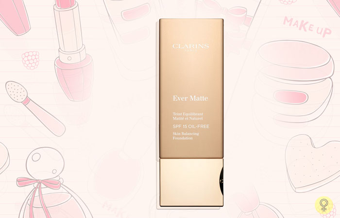 Clarins Ever Matte Oil-Free Foundation