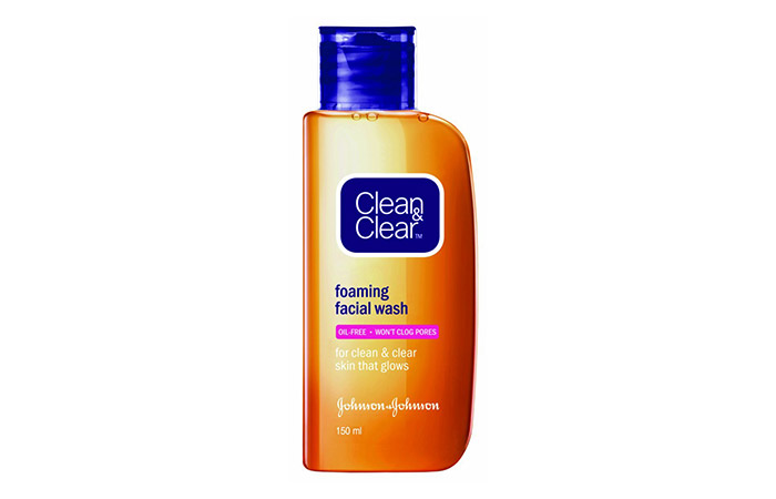 Clean & Clear Foaming Facial Face Wash - Acne Control Products
