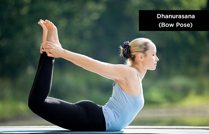Dhanurasana-(Bow-Pose)