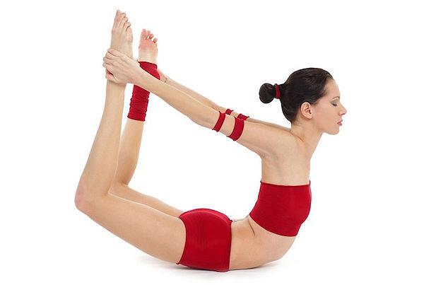 Dhanurasana for yoga