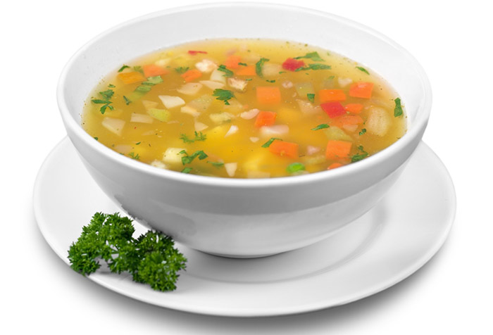 Diet For Vegetarians soup