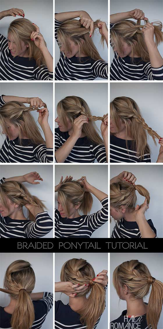 Easy-Braided-Ponytail