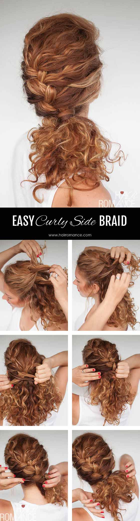 Easy-Curly-Side-Braid