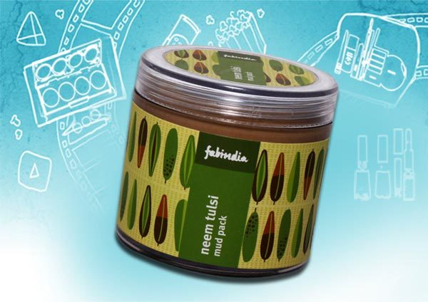 Best Skin Exfoliants - Fabindia Neem Tulsi Face