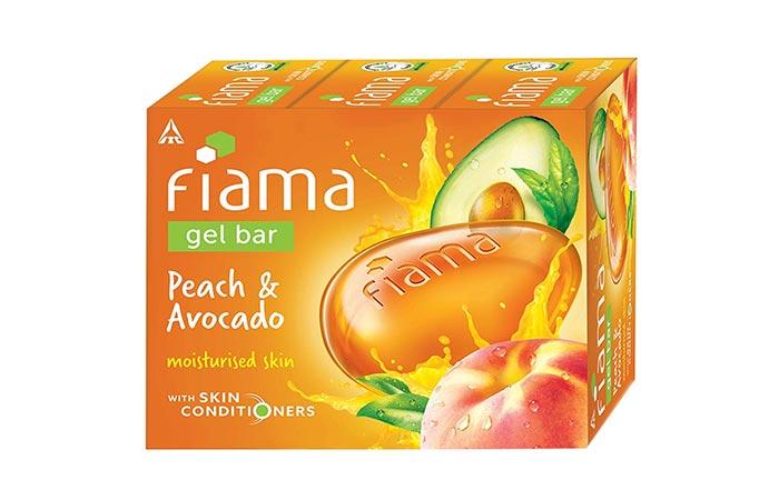 Fiama Gel Bar Peach and Avocado
