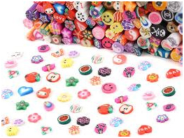fimo nail stickers 1