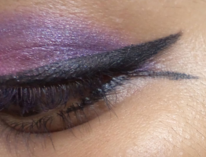 Pink And Purple Eye Makeup Tutorial - Step 8: Create a Fishtail