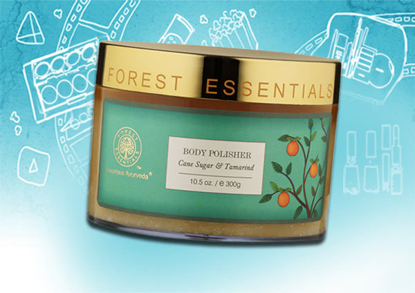 Best Skin Exfoliants - Forest Essentials Body Polisher