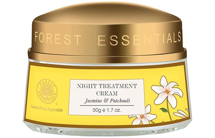 Forest Essentials Jasmine & Patchouli Night Treatment Cream