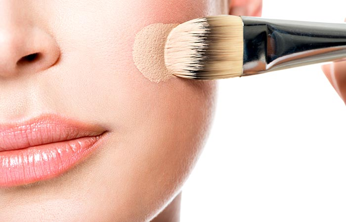 How To Apply Liquid Foundation - 3(i) Foundation Brush