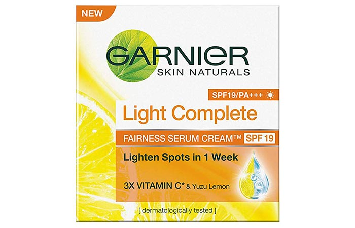 Garnier Light Complete - Skin Lightening Creams